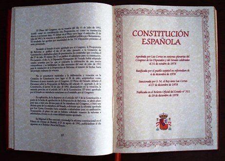 Constitucion Española 1978 oposiciones online opositaonline
